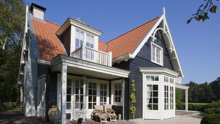 Houten Landhuis   Naarden  