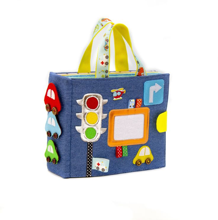 Quiet book CAR for toddler boy or girl 1 - 5 year old ...