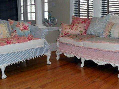29 Best Images About Shabby Chic Sofa Ideas On Pinterest