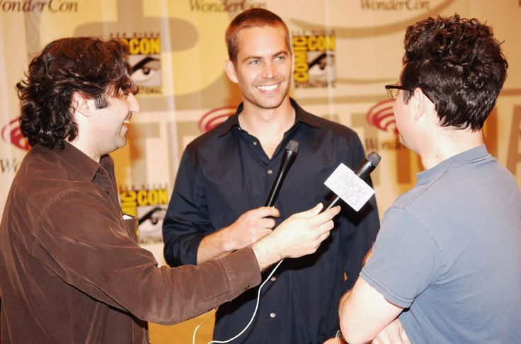 He spoke to reporters during a WonderCon event in San Francisco in February 2006.