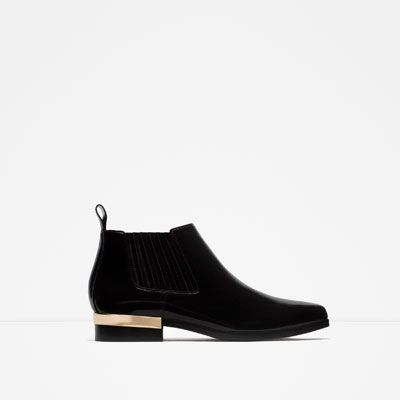 ZARA - WOMAN - BOOTIE WITH METAL BAND
