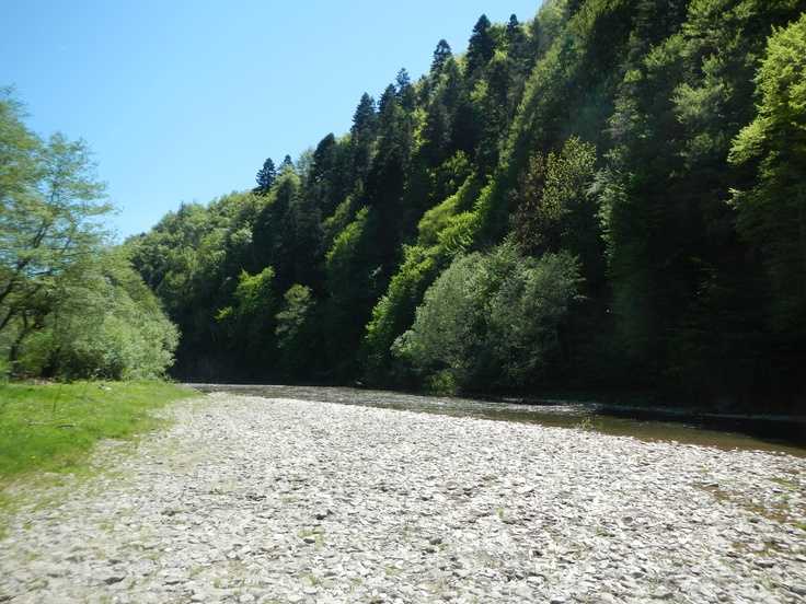 Buzau River near Crasna