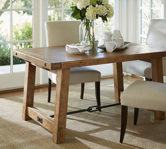7 Best Benchwright Extending Dining Table Pottery Barn Images On Unique Dining Room Pottery Barn Inspiration