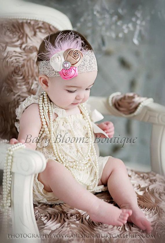 Baby Headband Baby hair bow flower