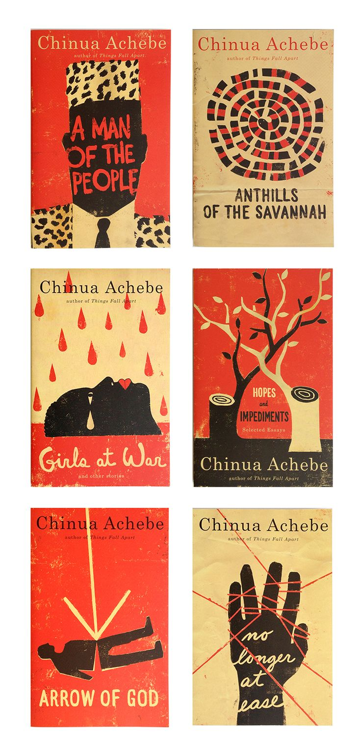 17 best ideas about chinua achebe things fall apart an amazing series of work from the collaboration of designer helen yentus and illustrator edel rodriguez