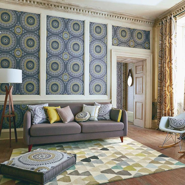 The range can be matched to curtains, cushions and wallpapers from the Harlequin collection.