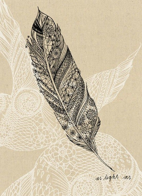 henna feather design pinterest feathers painted feathers and pens. Black Bedroom Furniture Sets. Home Design Ideas