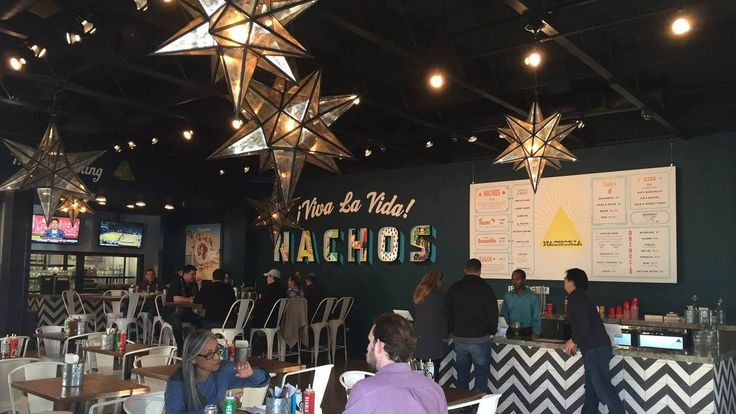 The Burlingame restaurant offers eight types of nachos.