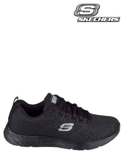 Skechers | 12135 | Sneakers | Black | MONFRANCE Webshop