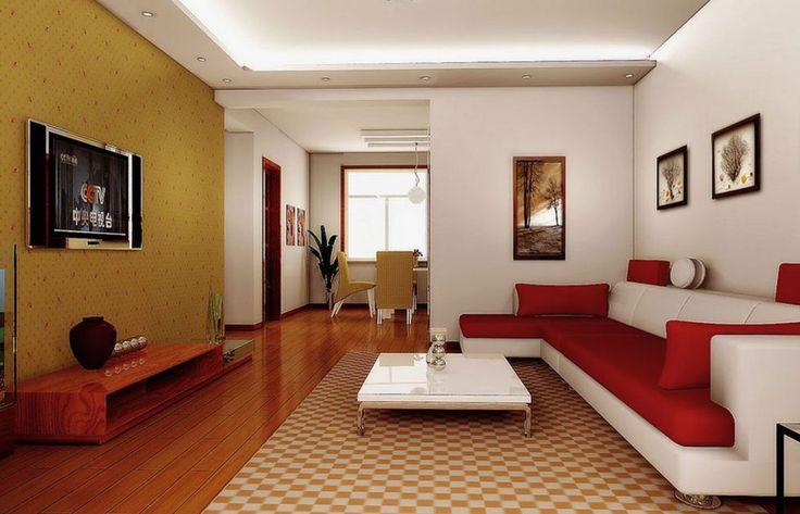 Gambar Desain Interior Ruang Tamu Masa Kini Pinterest Interiors