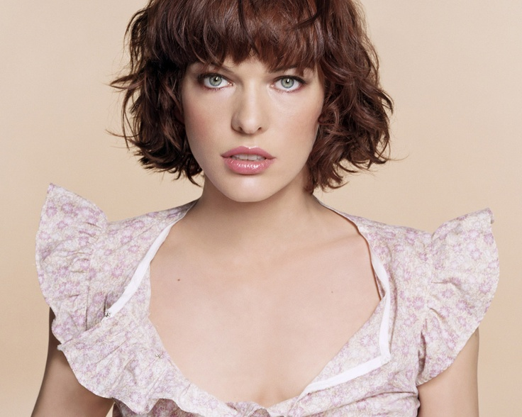 Milla Jovovich | Hair: Bobs | Pinterest