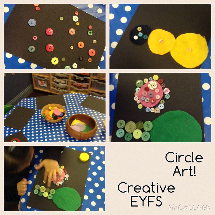 Circle art work!