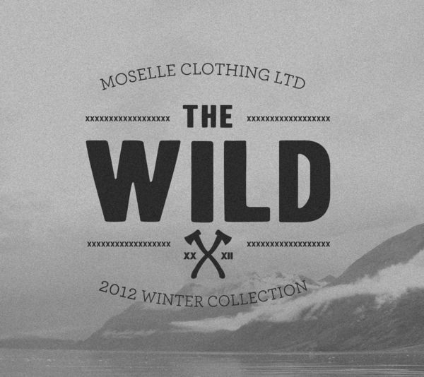 'The Wild': Moselle 2012 Winter Apparel Collection by Joe Mitchell, via Behance