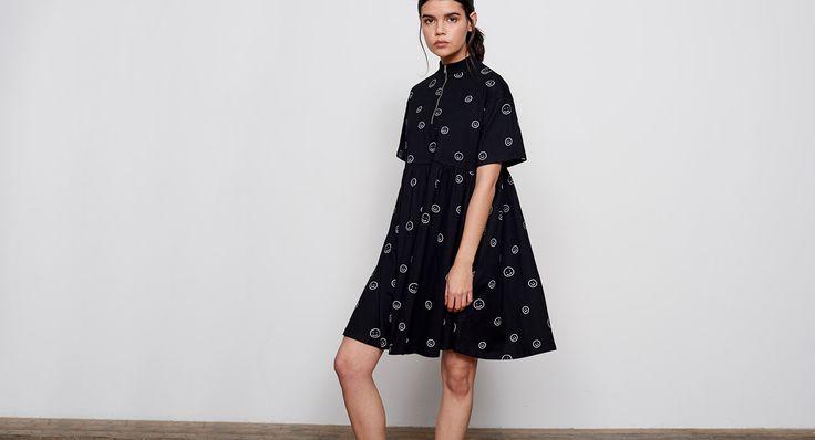 Lazy Oaf Zip Face Dress - Dresses - Categories - Womens