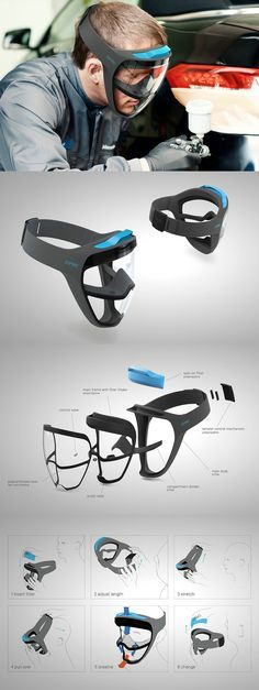 When we think of gas masks, we immediately envision goggles with a large contraption placed over the mouth. That's because the design has largely gone unchanged over the years. Perhaps this cumbersome design is not the best solution. Read Full Story at Yanko Design