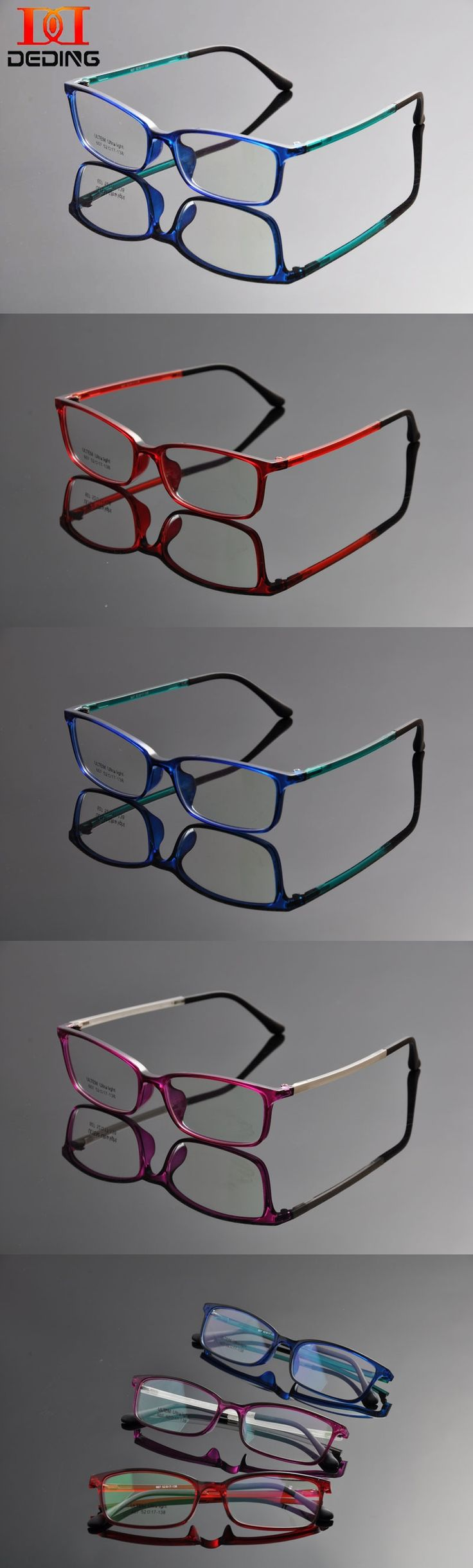 DEDING Retro Wayfare Clear Lens Glasses Casual Fashion Horned Rim Rectangular Frame Eye Glasses monturas de lentes Mujer DD1345