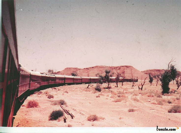 Old Ghan crossing Finke river