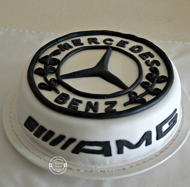 451 best images about cake decorating on pinterest car for Mercedes benz cake design