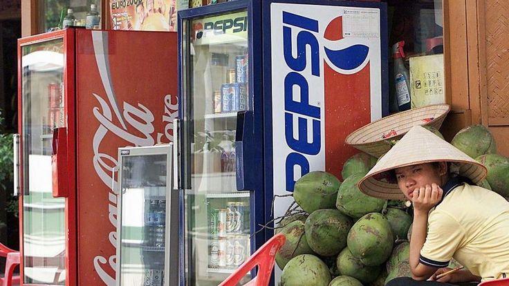 Udendørs køleskabe i Vietnam.