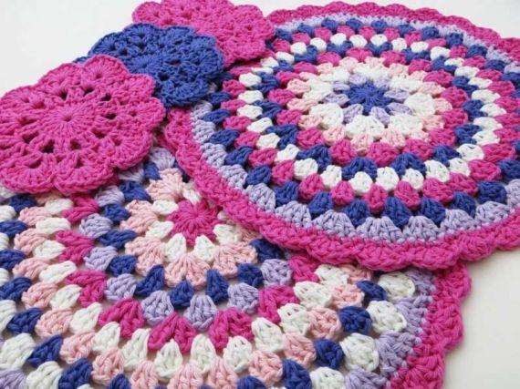 Conjunto carpetas al - Individuales y Posa Vasos - Casa - 394751