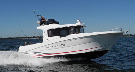 Beneteau Barracuda 9 running