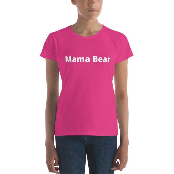 Mama Bear - Women's short sleeve t-shirt - WTE