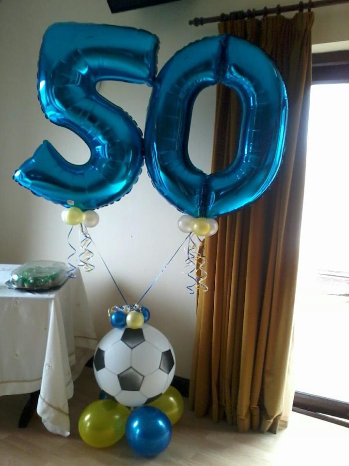 Football Balloon Display 50