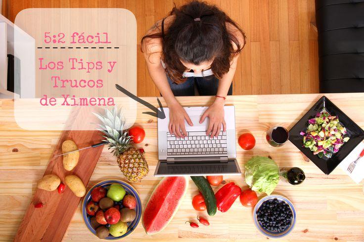 Tips y trucos para la dieta 5.2 o ayunos intermitentes. Incluye lista de alimentos con 100 o menos calorías para los ayunos.