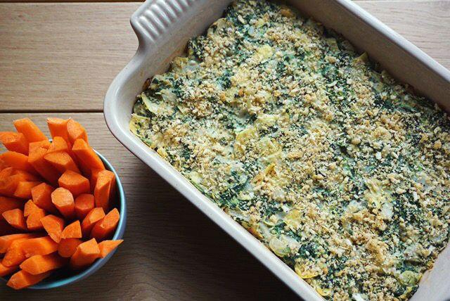 Vegan Spinach Artichoke Dip - Joy Bauer