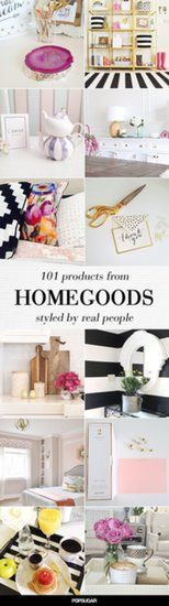 Amazing HomeGoods Pieces: This is probably no surprise: the way Instagram users styled their amazing finds from HomeGoods got a lot of attention . . . and for good reason.