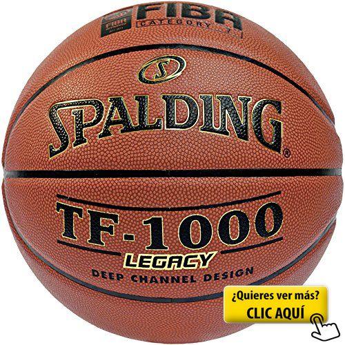Spalding TF1000 Legacy Fiba Balón de baloncesto, Unisex adulto, Ladrillo, 7 #balon #basket