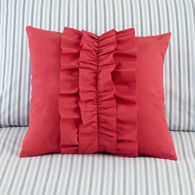Ruffle Throw Pillow
