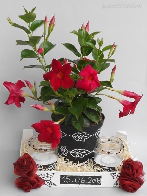 i pasticci di dani: cassetta della frutta decorata come regalo di compleanno