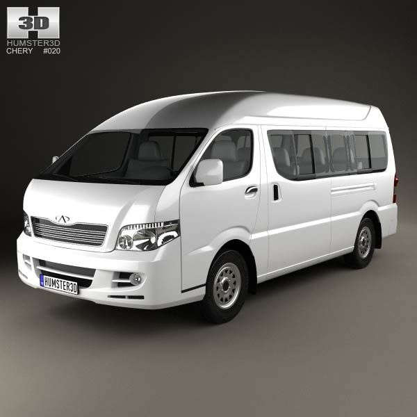 Chery P10 2014 3d model from humster3d.com. Price: $75