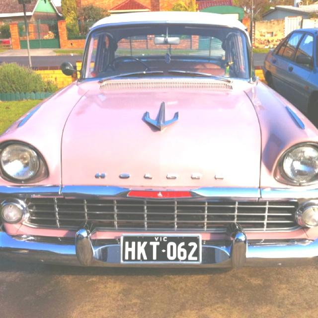 1961 Cameo Beige EK Holden.