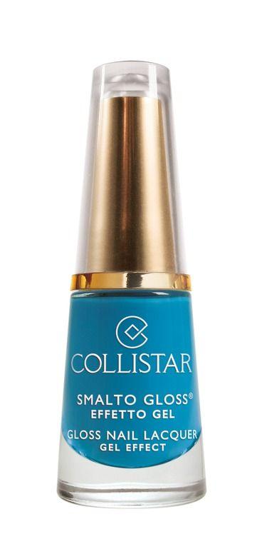 Smalto Gloss Effetto Gel n. 569 AZZURRO GIOCOSA#collistar #summer #estate #colors #colori #nails #unghie #smalti #makeup #azzurro #light blue