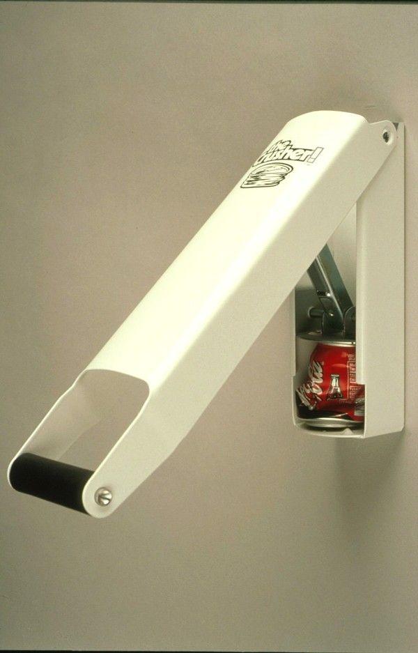Aluminum Cans Trash Compactor : Compactador de latas a collection of other ideas to try