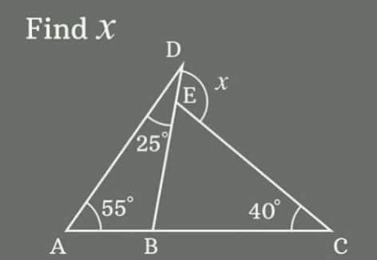 Exterior Math: Warm Up: Day After Triangle Sum Thm & Exterior Angle Thm