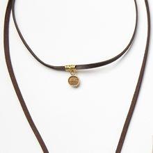 Moxie Necklace - woven copper
