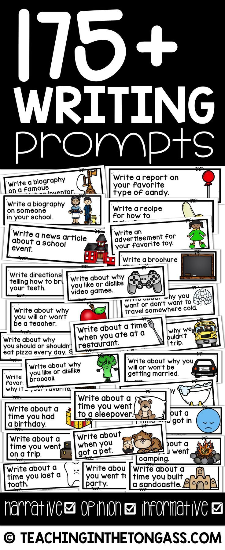 personal narrative writing prompts 5th grade Elementary writing curriculum: 5th grade unit five developed by the elementary writing  students write a personal narrative about a time that they faced a.