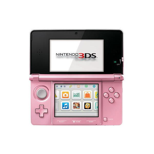 Nintendo 3DS Handheld Gaming System Pearl Pink Nintendo (€150) ❤ liked on Polyvore featuring electronics, filler, accessories, random and video games