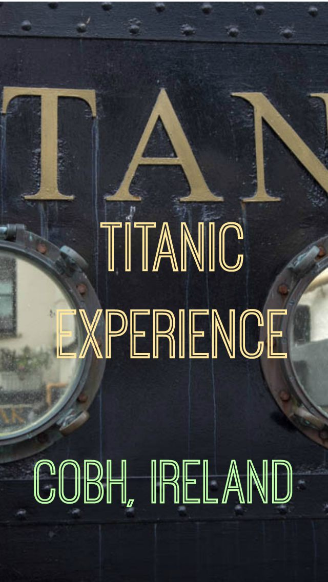 The Real Titanic Experience in Ireland. In the little town of Cobh, Ireland, known in the past as Queenstown, where the mighty Titanic made it's last port of call before heading to America. Cobh was the portal to the new world, travelers from all over Ireland came here to start their new life by journeying to America. http://www.divergenttravelers.com/the-real-titanic-experience-in-ireland/