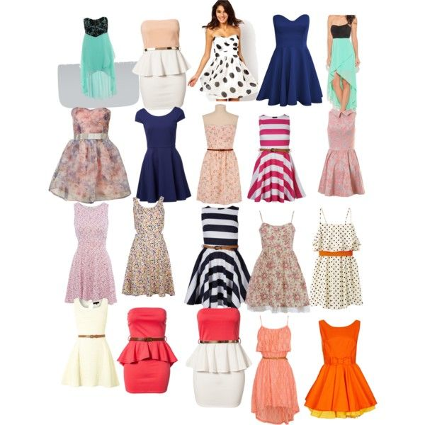 best 6th grade styles | fashion look from August 2013 featuring Topshop dresses, Club L ...