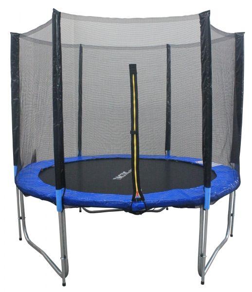 Capetan® Montana 427cm óriás trambulin védőhálóval - védőhálós trambulin - kisgyermekek testmagasságához optimalizált kialakítás