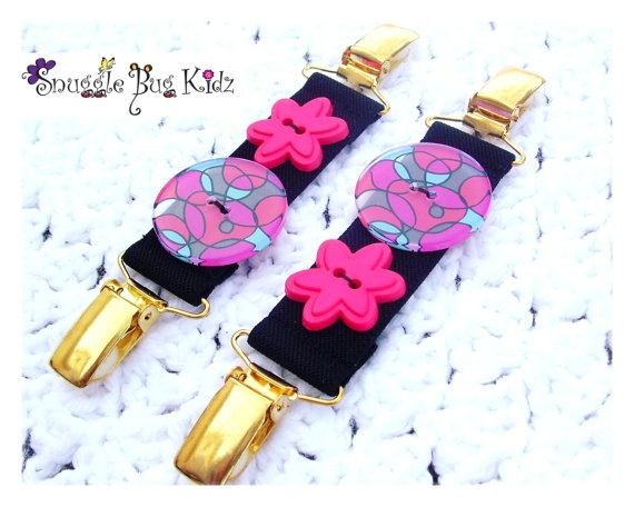 Boutique Mitten Clips by Snuggle Bug Kidz