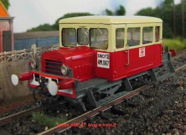 Parmi les nombreuses nouveautés AMF 87 à découvrir (et acquérir !) à Railexpo, remarquons les très sympathiques draisines unifiées type DU 49 et DU 50. Train miniature, passion, modélisme ferroviaire