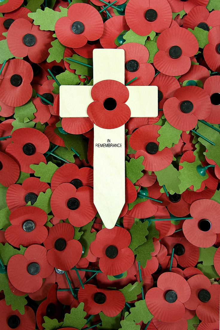 Royal British Legion Poppies of Rememberance