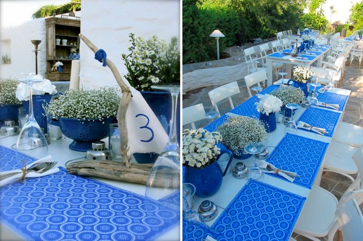 Yves Klein Blue Wedding in Sifnos @ Chrysopigi Church | Sifnos Island