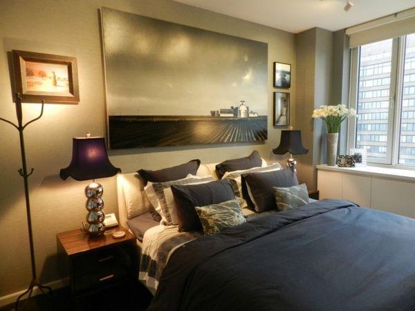 Männliches Schlafzimmer Design: Hinweise für die Einrichtung des Schlafzimmers in einer Junggesellenwohnung