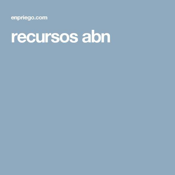 recursos abn